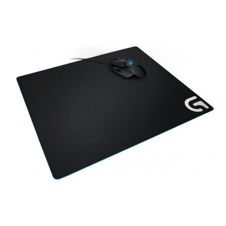 Mousepad Gamer Logitech G640, 46x40cm, Grosor 3mm, Negro