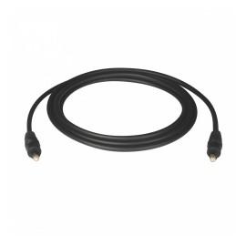Tripp Lite Cable Óptico Digital de Audio SPDIF Toslink Macho - Toslink Macho, 4 Metros, Negro
