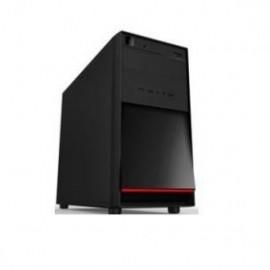 Gabinete K-mex CM-3F22, Mini-Tower, USB 2.0, con Fuente de 450W, Negro