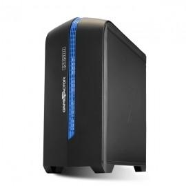 Gabinete Game Factor CSG500 con Ventana LED, Micro-ATX
