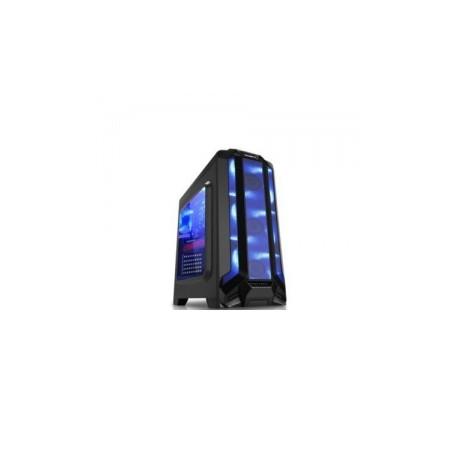 Gabinete Eagle Warrior RobotQ con Ventana LED Azul, Tower, ATX