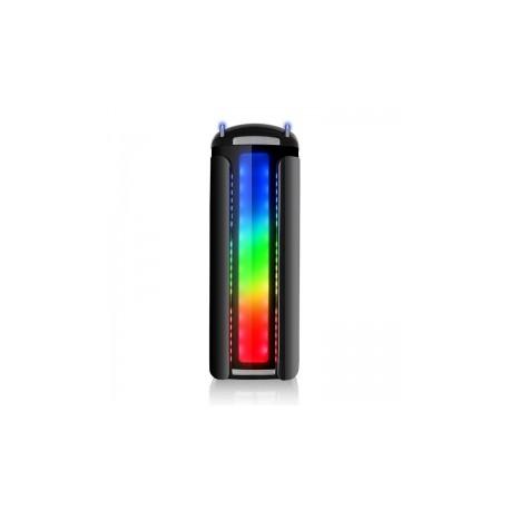 Gabinete Thermaltake Versa C22 RGB con Ventana LED Multicolor, Midi-Tower, ATX