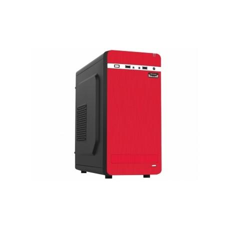 Gabinete K-mex CM-01A7, Torre, micro-ATX, USB 2.0, con Fuente de 450W