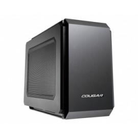 Gabinete Cougar QBX, Mini-Tower, Mini-ITX, USB 3.0, sin Fuente, Negro