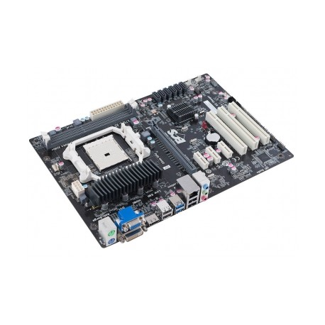 Tarjeta Madre ECS ATX A75F2-A2, S-FM2, AMD A75, HDMI, USB 3.0, 64GB DDR3, para AMD