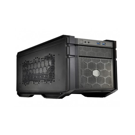 Gabinete Cooler Master HAF 915R, Mini-Tower, Mini-ITX, USB 3.0, sin Fuente, Negro