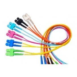 Belden Cable Fibra Óptica OM3 Duplex SC Macho - SC Macho, 3 Metros, Azul