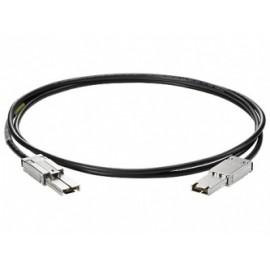 HPE Cable External Mini SAS, 1 x 26-pin SFF-8088 Macho, 1 Metro, Negro