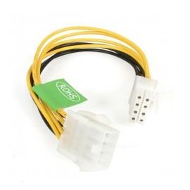 StarTech.com Cable de Poder ATX Macho - Hembra (8-pin), 20cm