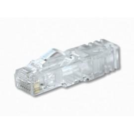 Panduit Plug Cat6 RJ-45 de 8 Posiciones, Transparente, Paquete de 100 Piezas