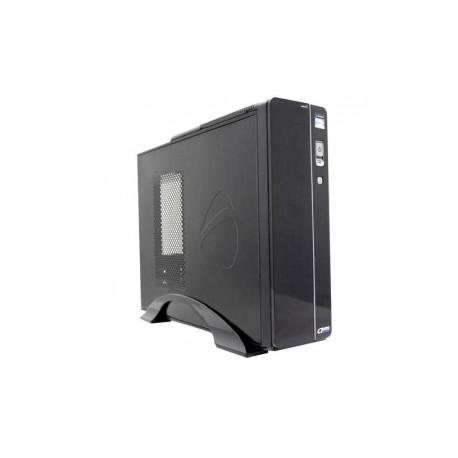 Gabinete Acteck Bern Slim TD-510, micro-ATX, USB 1.0, con Fuente de 500W, Negro