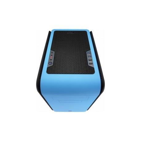Gabinete Aerocool DS Cube Blue, micro-ATX mini-iTX