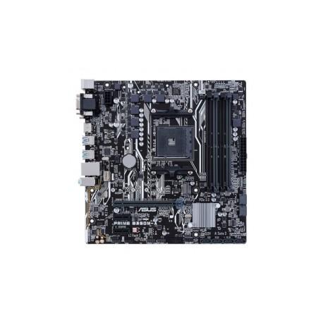 Tarjeta Madre ASUS micro ATX PRIME B350M-A, S-AM4, AMD B350, 64GB DDR4, para AMD