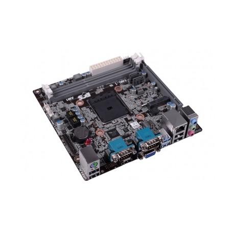 Tarjeta Madre ECS mini ITX KAM1-I, S-AM1, HDMI, USB 2.0/3.0, 16GB DDR3, para AMD