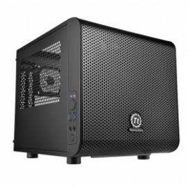 Gabinete Thermaltake Core V1, Mini Chassis Cubo, mini-iTX, 2x USB 3.0, sin Fuente