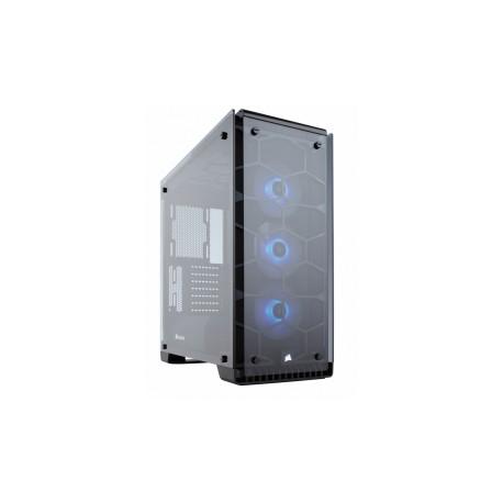 Gabinete Corsair Crystal 570X con Ventana LED RGB, Midi-Tower, ATX