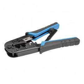 Tripp Lite Pelador de Cable RJ11/RJ12/RJ45, Negro/Azul