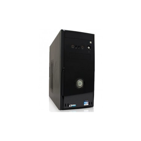 Gabinete Acteck Badem P-509, micro-ATX, USB 2.0, con Fuente de 500W, Negro
