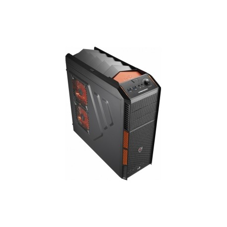 Gabinete Aerocool XPredator X1 Evil Black Edition, Midi-Tower