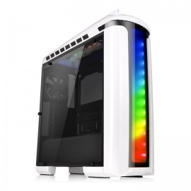 Gabinete Gamer Thermaltake Versa C22 RGB Snow Edition con Ventana, Midi-Tower, ATX
