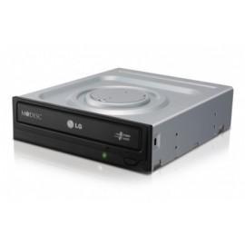 LG GH24NSC0 Quemador de DVD, DVD-R 24x DVD-RW 6x, SATA, Interno, NegroGris