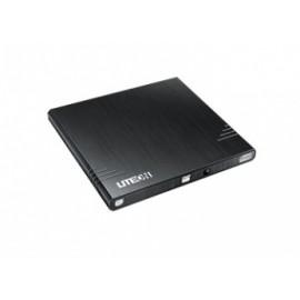 Lite-On eBAU108 Quemador de DVD, DVD-R 8x / DVDRW 8x, Externo, USB 2.0, Negro