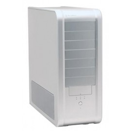 Gabinete SilverStone Temjin TJ07S, Full-Tower, ATX, USB 2.0, sin Fuente, Plata