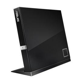 ASUS SBW-06D2X-U Blu-ray Combo, BD-R 6x / BD-RE 2x, Externo, USB 2.0, Negro