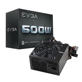 Fuente de Poder EVGA 100-W1-0600-KR 80 PLUS White, ATX, 24-pin ATX, 600W