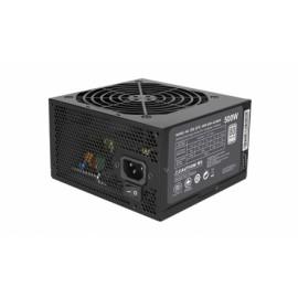 Fuente de Poder Cooler Master MasterWatt Lite 500 80 PLUS, 20 4 pin ATX, 120mm, 500W