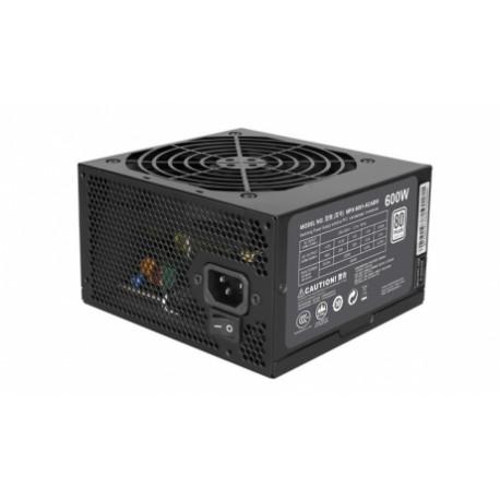 Fuente de Poder Cooler Master MasterWatt Lite 600 80 PLUS, 20 4 pin ATX, 120mm, 600W