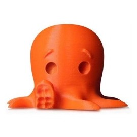 MakerBot Bobina de Filamento MP05777 PLA, Diámetro 1.75mm, 900g, Naranja