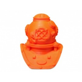 MakerBot Bobina de Filamento MP01978 ABS, Diámetro 1.75mm, 1KG, Naranja