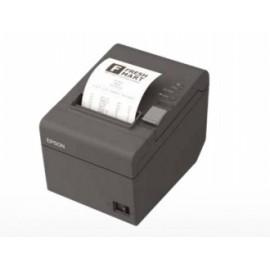 Epson TM-T20II, Impresora de Tickets, Térmico, Alámbrico, Serial  USB, Negro - incluye Fuente de Poder y Cable USB