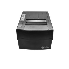 3nStar RPT010, Impresora de Tickets, Térmica Directa, Alámbrico, Negro