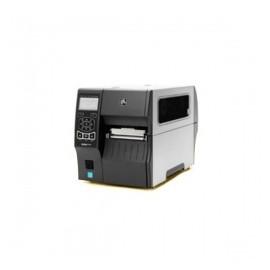 Zebra ZT410, Impresora de Etiquetas, Transferencia Térmica, Bluetooth, Serial, USB, 203DPI, Negro/Gris