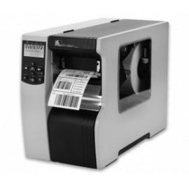 Zebra R110Xi4, Impresora de Etiquetas, Térmica Directa, 203DPI, 1x RS-232, 1x USB 2.0, Negro/Gris
