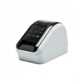 Brother QL-810W, Impresora de Etiquetas, Térmica Directa, 300 x 600 DPI, USB 2.0, Negro/Blanco