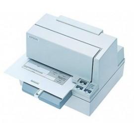 Epson TM-U590 Impresora de Cheques, Alámbrico, Serial, Blanco - Sin Cables ni Fuente de Poder