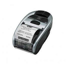 Zebra Impresora Móvil MZ220i, Térmica Directa, Inalámbrico, Bluetooth, Plata