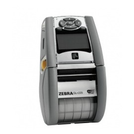 Zebra Impresora Móvil QLn220, Térmica Directa, Inalámbrico/Alámbrico, Bluetooth 2.1, Negro