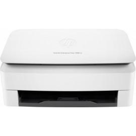 Scanner HP ScanJet Enterprise Flow 7000 s3, 600 x 600 DPI, Escáner Color, Escaneado Dúplex, USB 2.0/3.0, Blanco