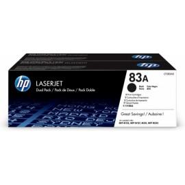 Toner HP 83A Paquete Doble Negro, 2x 1500 Páginas