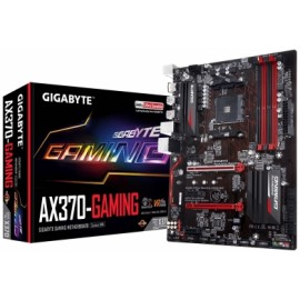 Tarjeta Madre Gigabyte ATX GA-AX370-GAMING, S-AM4, AMD X370, USB 3.0, 64GB DDR4, para AMD