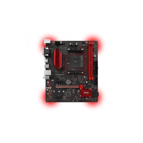 Tarjeta Madre MSI micro ATX A320M GAMING PRO, S-AM4, AMD A320, HDMI, USB 3.0, 32GB DDR4, para AMD