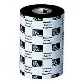 Cinta Zebra 2000 Wax, Transferencia Térmica, 450 Metros, Negro