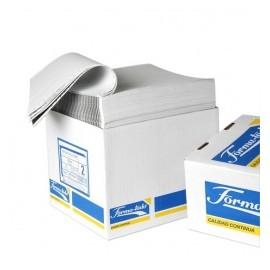Formatodo Papel Stock Original 2 Tantos, 1500 Hojas de 9.5'' x 11'', Blanco