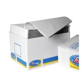 Formatodo Papel Stock Original 4 Tantos, 750 Hojas de 9.5'' x 11'', Blanco