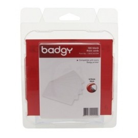 Evolis Paquete de 100 Tarjetas PVC para Badgy 100/200