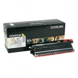 Lexmark Revelador C540X34G Amarillo, 30.000 Páginas